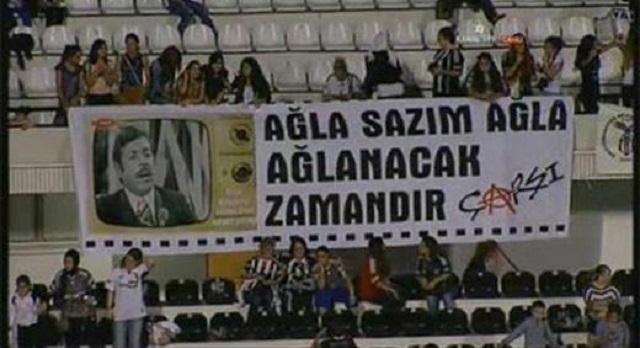 Beşiktaş tribünlerinin futbol dışı pankartları 2 3