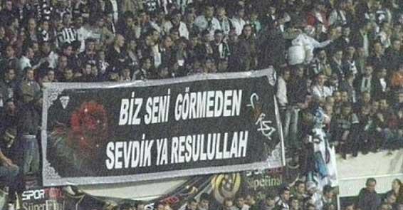 Beşiktaş tribünlerinin futbol dışı pankartları 2 8