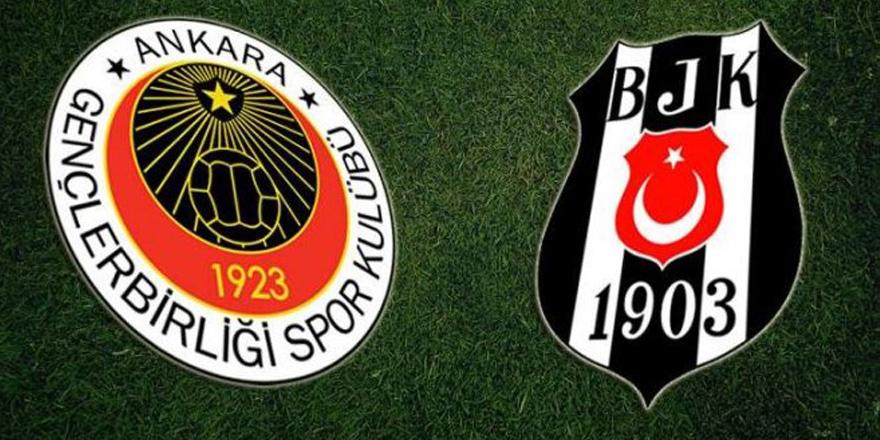 7 maddede Gençlerbirliği-Beşiktaş istatistikleri
