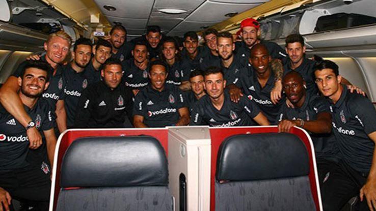 Beşiktaş yine Çin'e uçuyor!