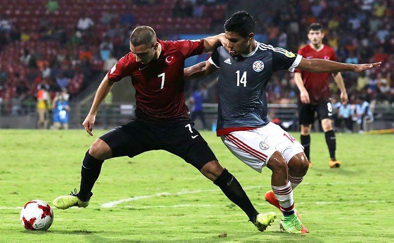 Türkiye U17 Milli Takımı Paraguay'a yenildi!