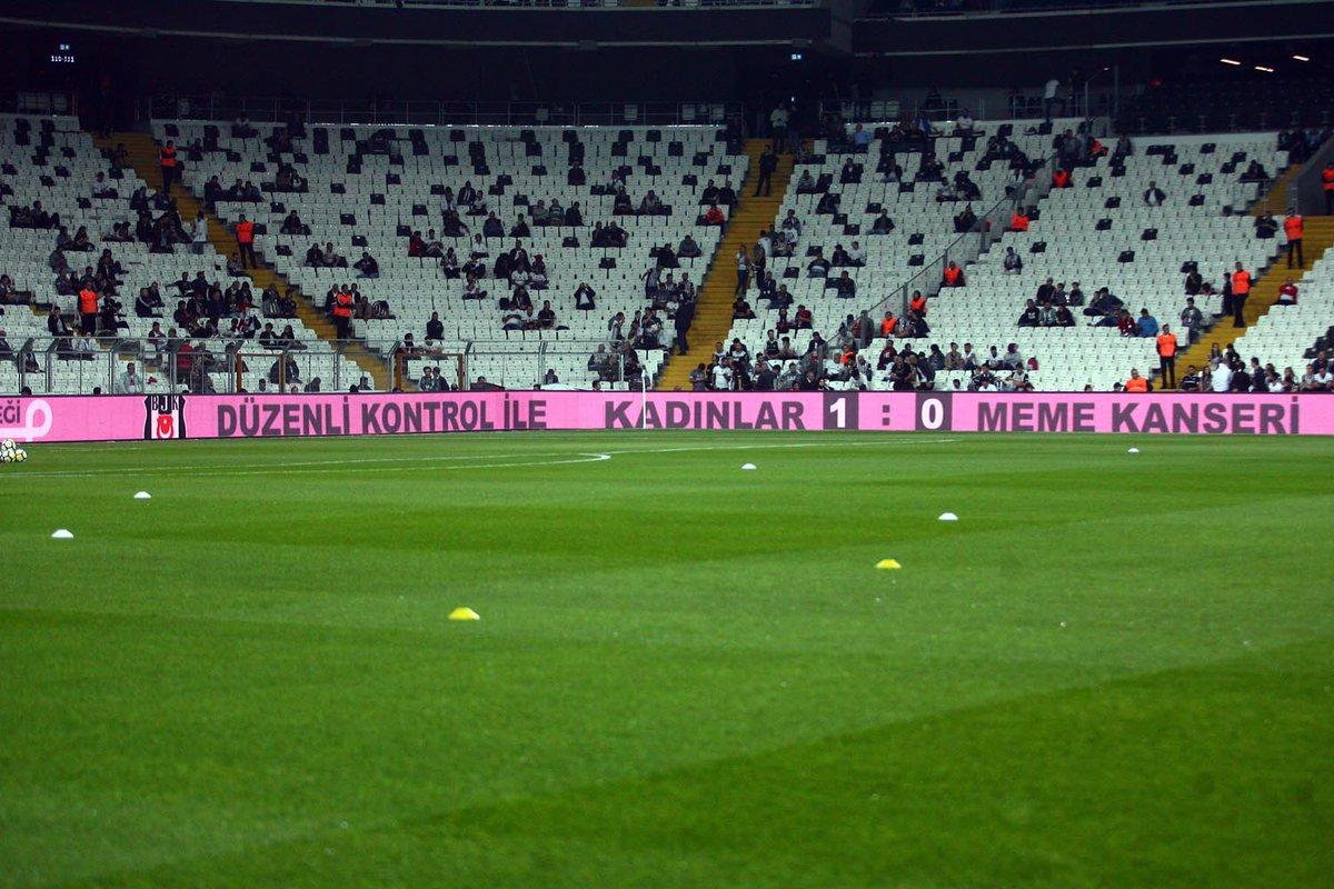 Beşiktaş'tan sosyal mesaj! Kadınlar 1-0 Meme Kanseri