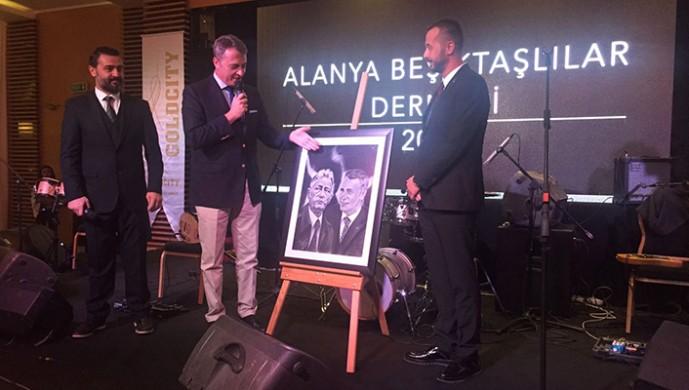 Fikret Orman, Alanyalı Beşiktaşlılar ile buluştu!