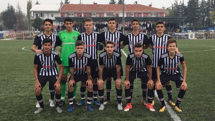 Beşiktaş U15 Takımı ile Manchester City karşılaşmasının golleri