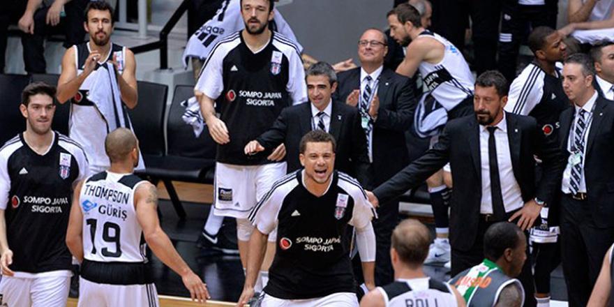 Beşiktaş Sompo Japan takımı Yunanistan'a gitti