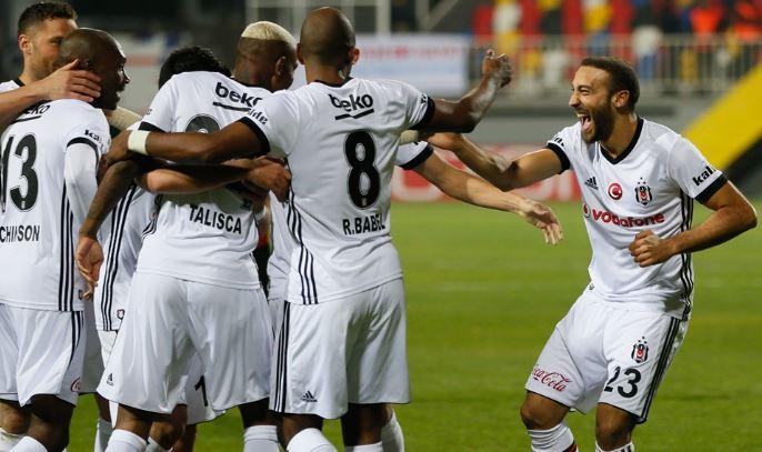 Beşiktaş, Süper Lig'de son 6 sıradaki takımlara acımıyor!