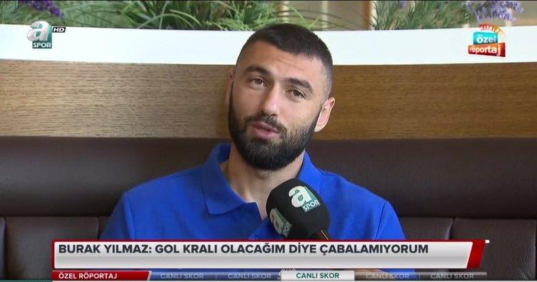 """Burak Yılmaz: """"Cenk Tosun kardeşim gol atınca çok mutlu oluyorum"""""""