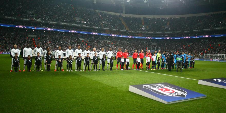 Taraftardan Beşiktaş'a büyük destek