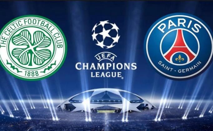 PSG (Paris Saint Germain) - Celtic maçı canlı izle