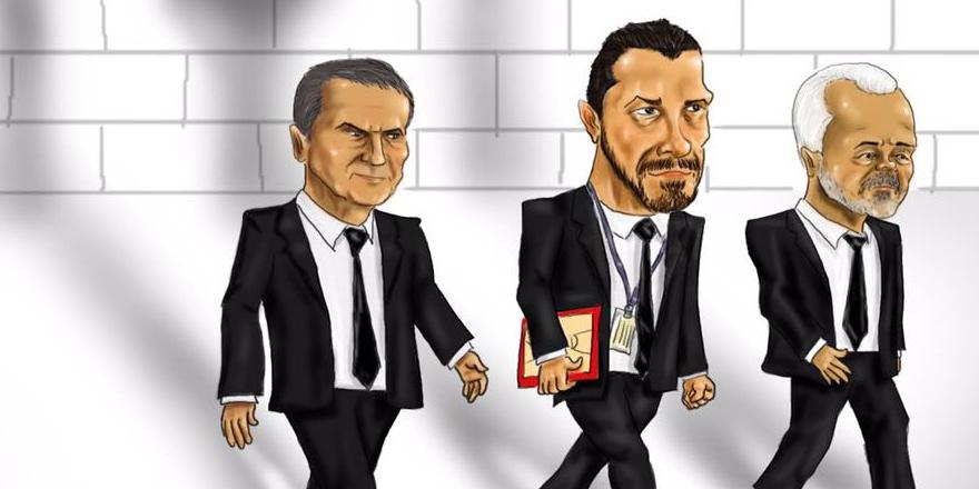Namağlup Beşiktaş'a özel karikatür
