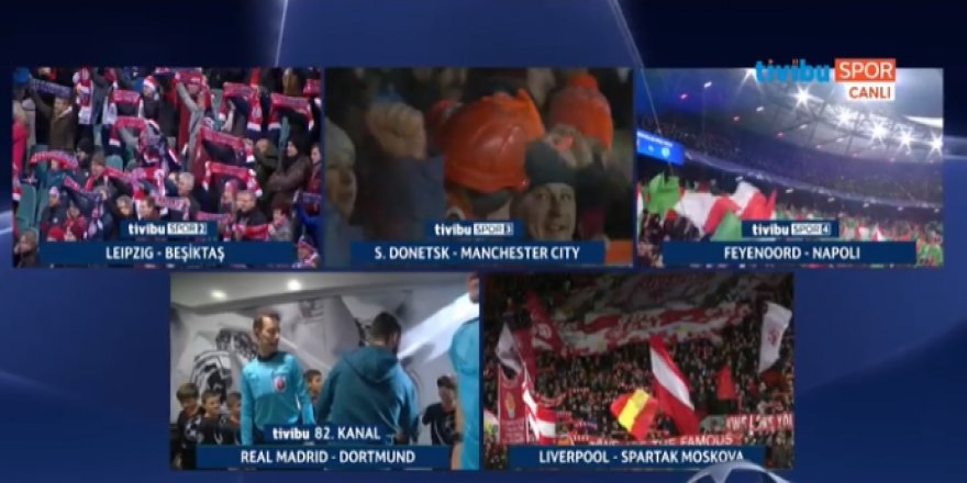 Shakhtar Donetsk - Manchester City maçı canlı izle