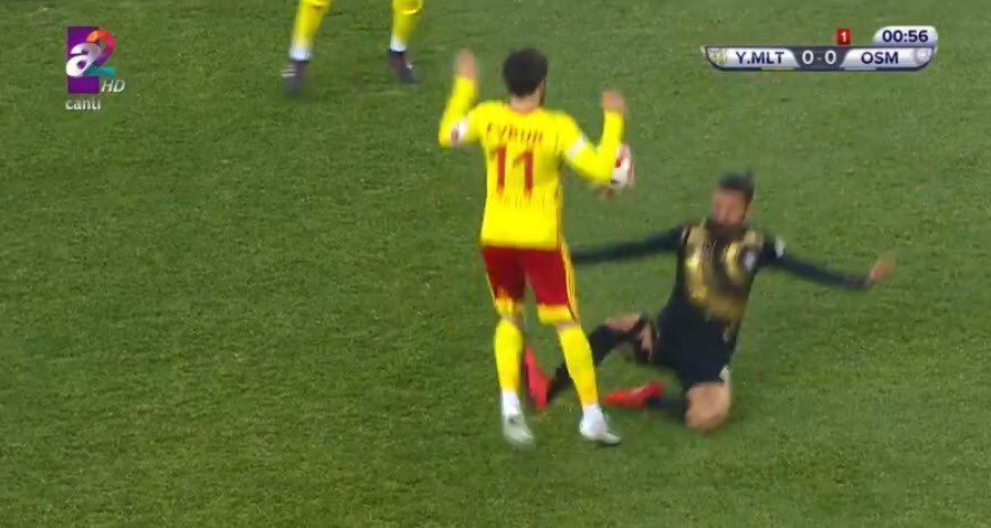 Osmanlısporlu oyuncu, Beşiktaş karşısında cezalı!
