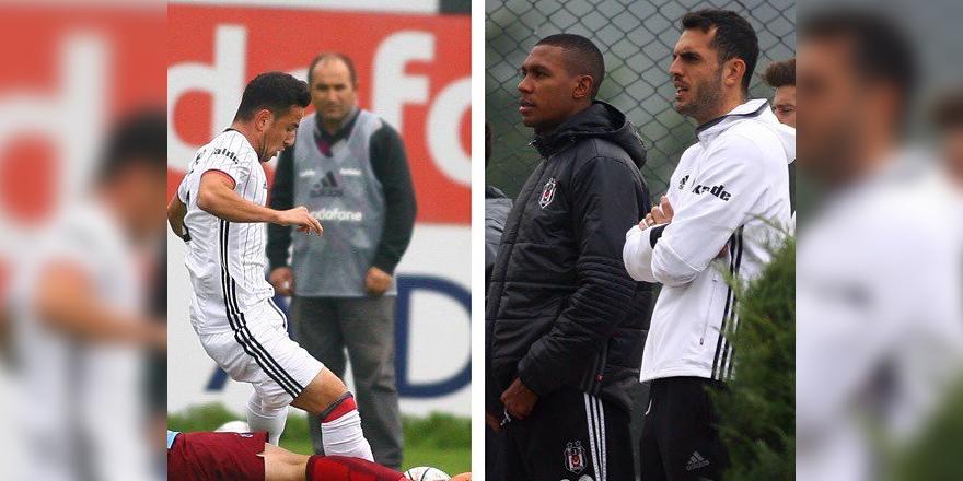 Beşiktaşlı futbolculardan gençlere destek