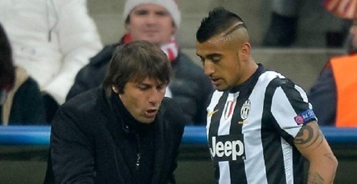"""Antonio Conte'den Vidal açıklaması: """"Onun için savaşacağım!"""""""