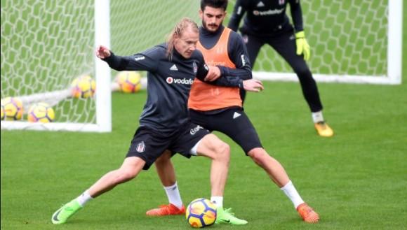 Beşiktaş, Antalya'da çalışmalarını sürdürüyor