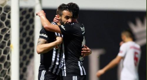 Beşiktaş hazırlık maçında kazandı!