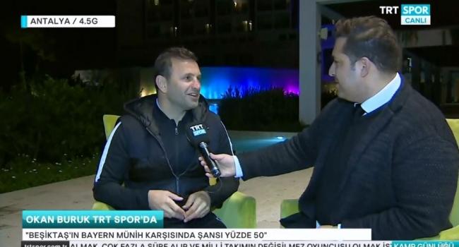 """Okan Buruk: """"Beşiktaş'ın şansı yüzde 50"""""""