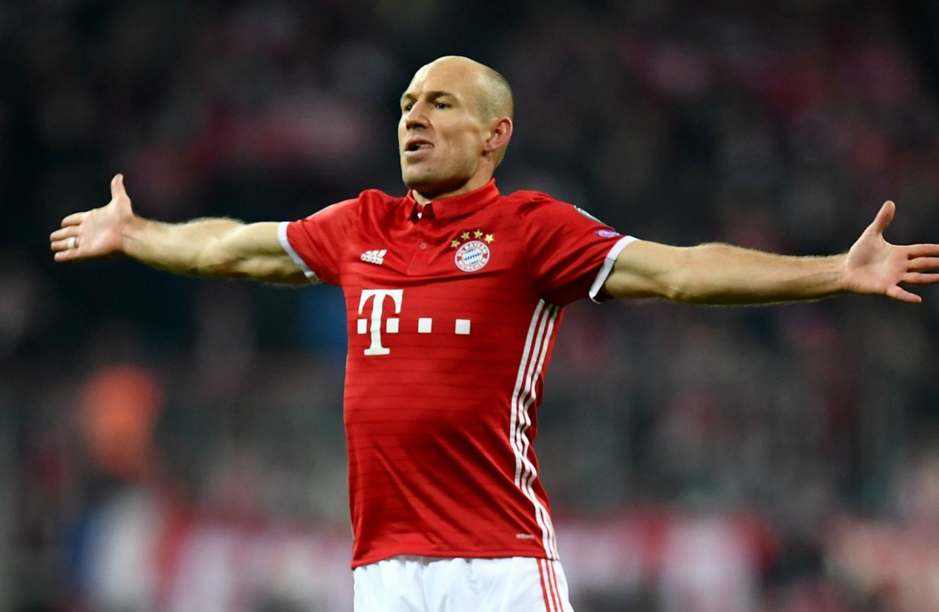 Beşiktaş'ın da listesinde olan Robben kararını verdi!
