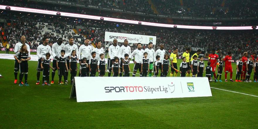 Beşiktaş'ta formayı unutan 4 futbolcu