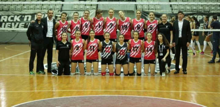 Beşiktaş Kadın Voleybol Takımı deplasmanda mağlup oldu!