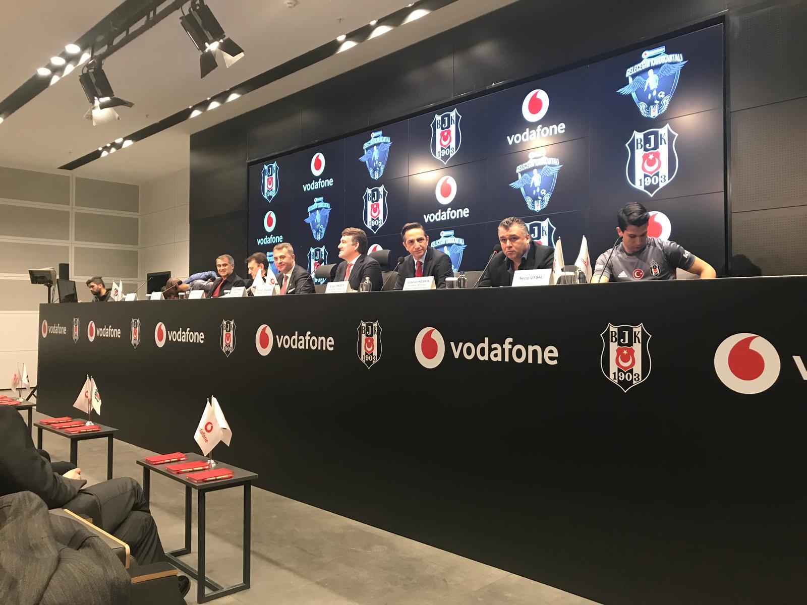 Beşiktaş ve Vodafone'dan yeni işbirliği: Geleceğin Karakartalları