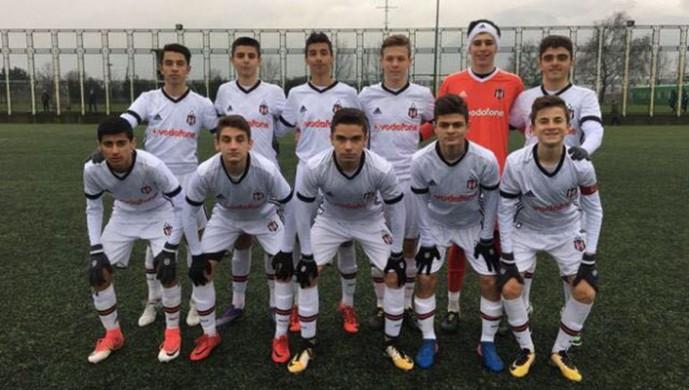 Kasımpaşa:1 Beşiktaş:2 (U-15)