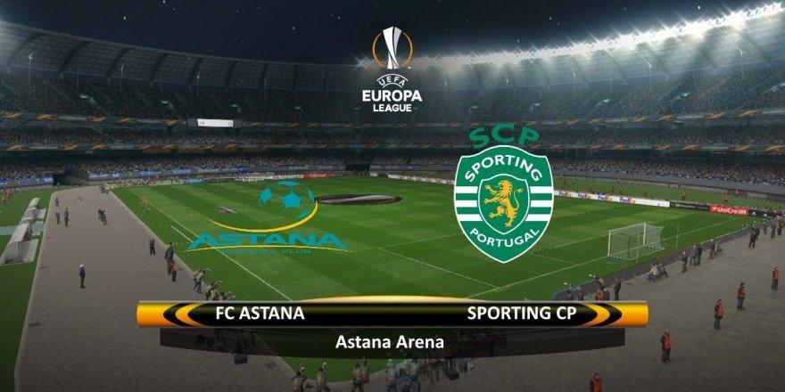 Astana - Sporting Lizbon maçı CANLI izle