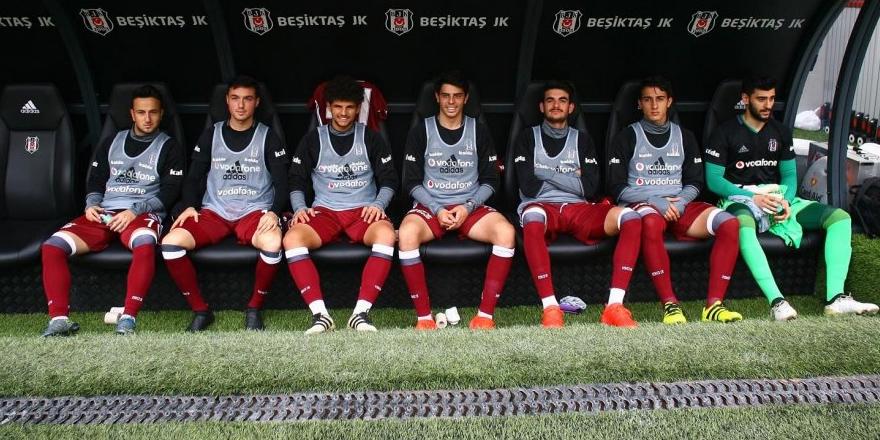 Beşiktaş'ta 7 altyapı oyuncusu forma şansı buldu