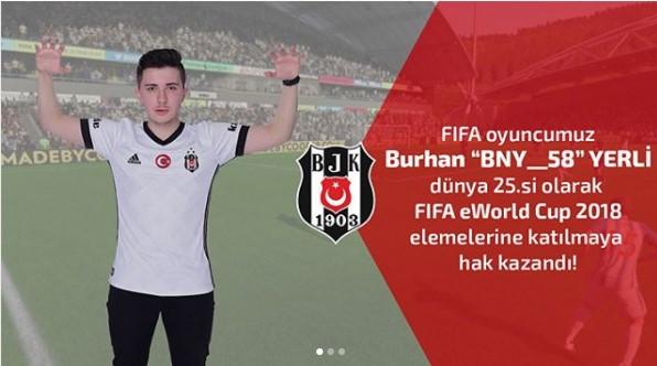 Beşiktaş, E-Spor'da ülkemizi Avrupa'da temsil edecek!