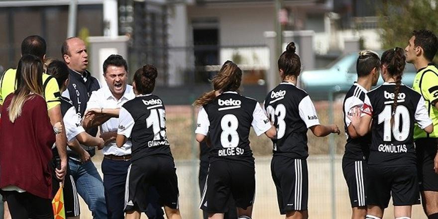 Beşiktaş'ın maçında olay!