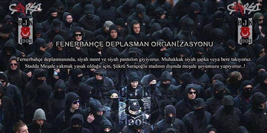 Beşiktaş taraftarı siyah giyecek