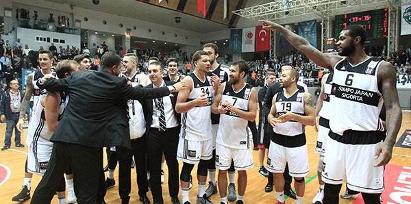 Namağlup Beşiktaş Sassari deplasmanında!