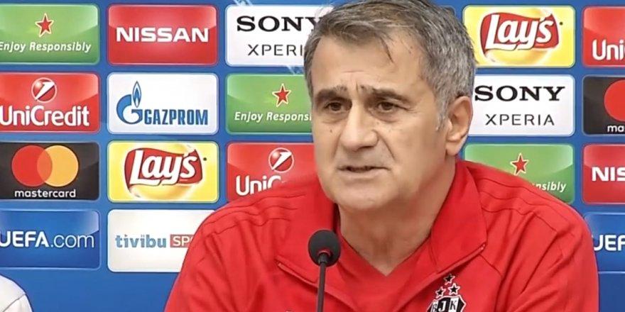 """Şenol Güneş: """"Pepe, Vida yok, Tosic de olmayacak."""""""