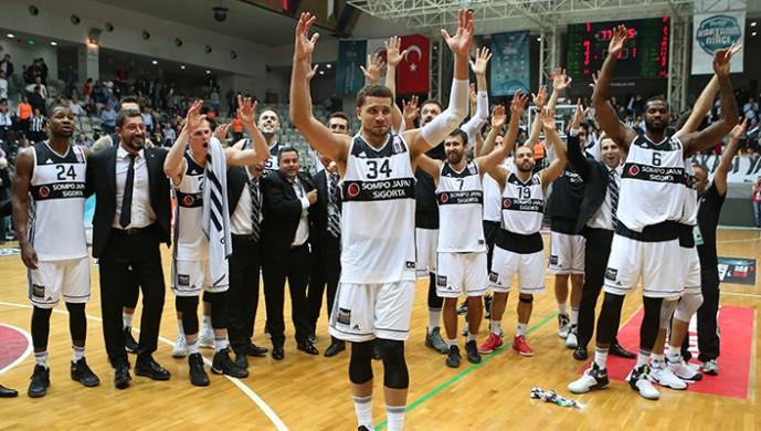 Beşiktaş Sompo Japan İtalya'ya gitti