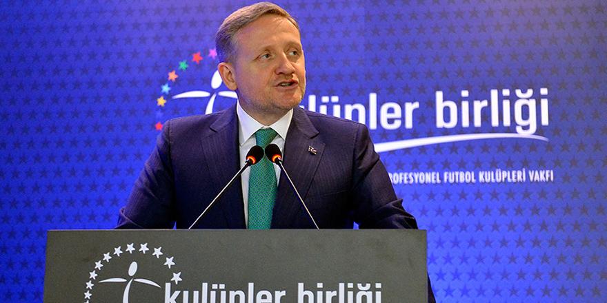 ''Yayın ihalesi Türk futbolu için dev bir adım''