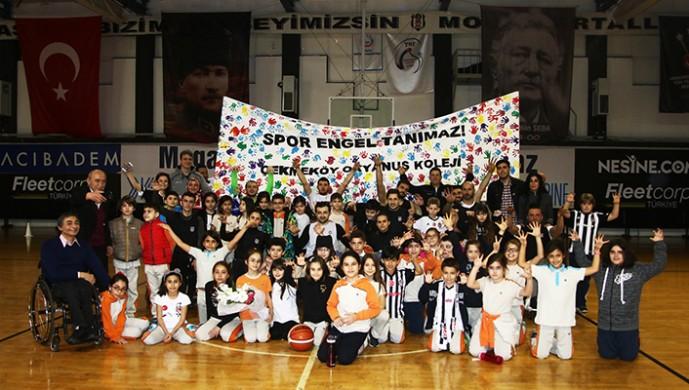 Beşiktaş RMK Marine, Çekmeköy Okyanus Koleji öğrencilerini ağırladı
