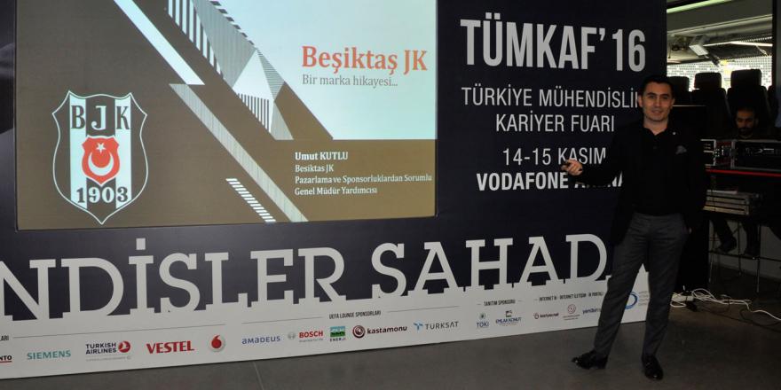Beşiktaş'ın artan marka değeri panelde anlatıldı