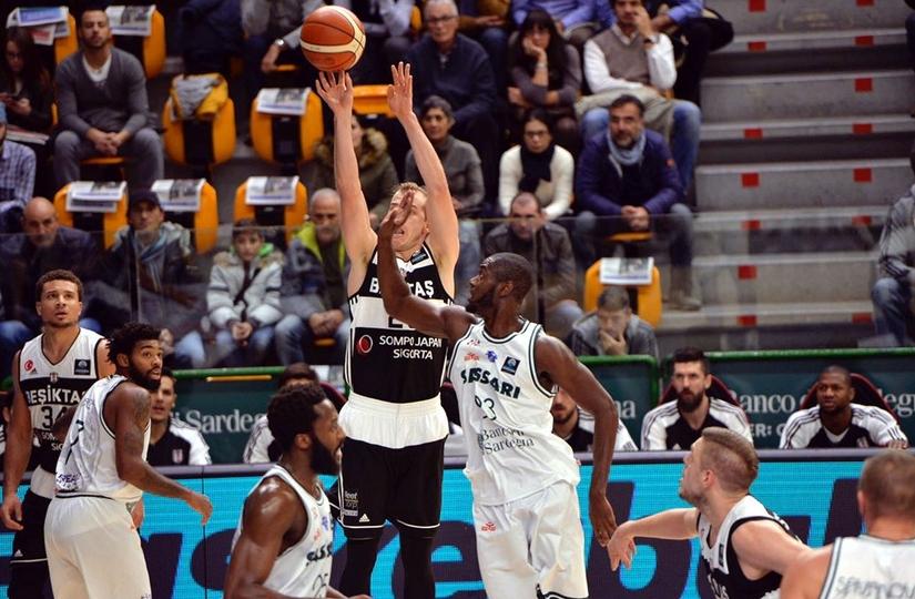 D.Sassari: 74 - Beşiktaş: 75