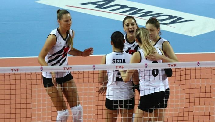 Beşiktaş Kadın Voleybol Takımının sıralama etabında rakibi belli oldu