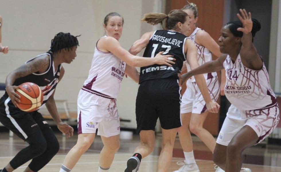 Beşiktaş Kadın Basketbol Takımı deplasmanda mağlup oldu