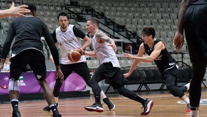 Beşiktaş Sompo Japan, Gaziantep Basketbol maçı hazırlıklarına devam etti
