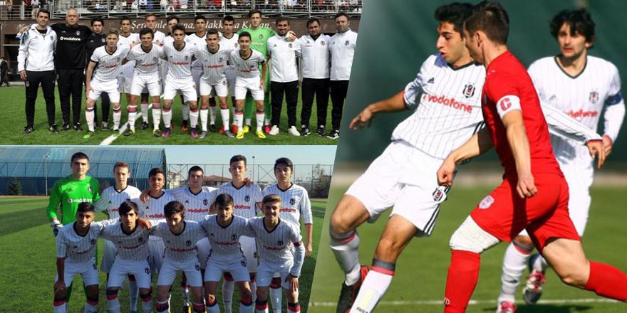 Beşiktaş altyapısı Pendikspor'la karşılaştı
