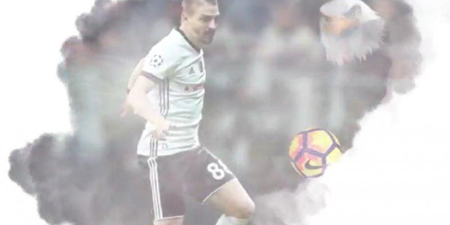 """Caner Erkin:""""Bugün günlerden derbi, bugün günlerden Beşiktaş"""" (VİDEO)"""