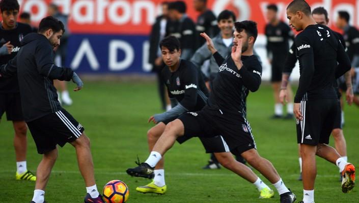 Beşiktaş, Adanaspor maçı hazırlıklarını tamamladı