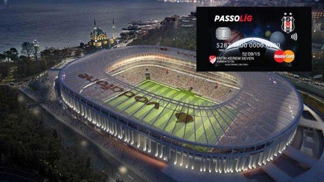 Beşiktaş logolu Passolig'e indirim