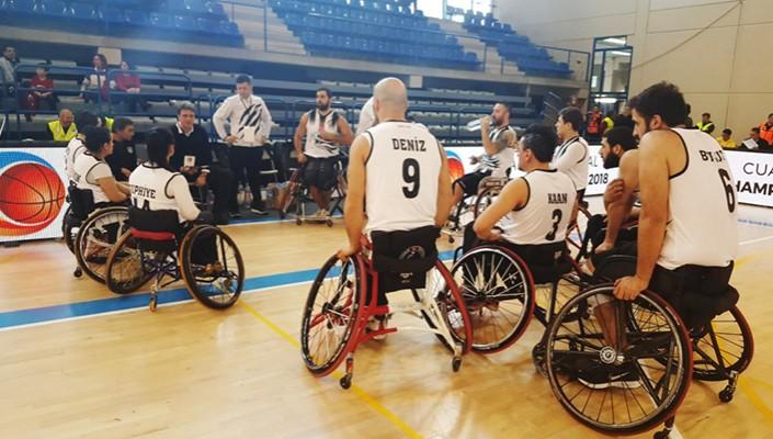 Beşiktaş RMK Marine'nin Andre Vergauwen Kupası maç programı