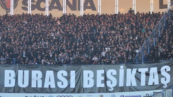 Beşiktaş taraftarından mesaj: #BeşiktaşınMaçıYok