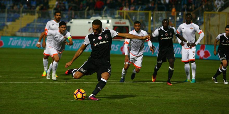 Beşiktaş 4'te 4 yaptı