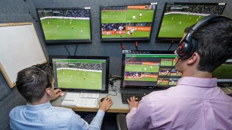 Erzurumspor - Beşiktaş karşılaşmasında 'Video Hakem Sistemi' devreye sokuldu