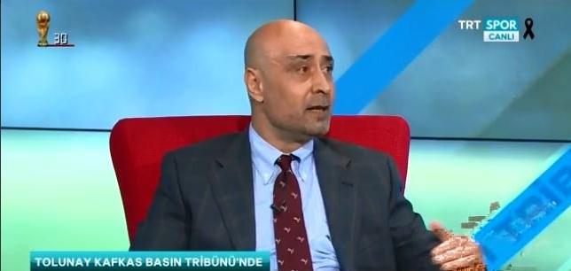 """Tolunay Kafkas: """"Şenol Güneş, Türk futbolunun lokomotifidir."""""""